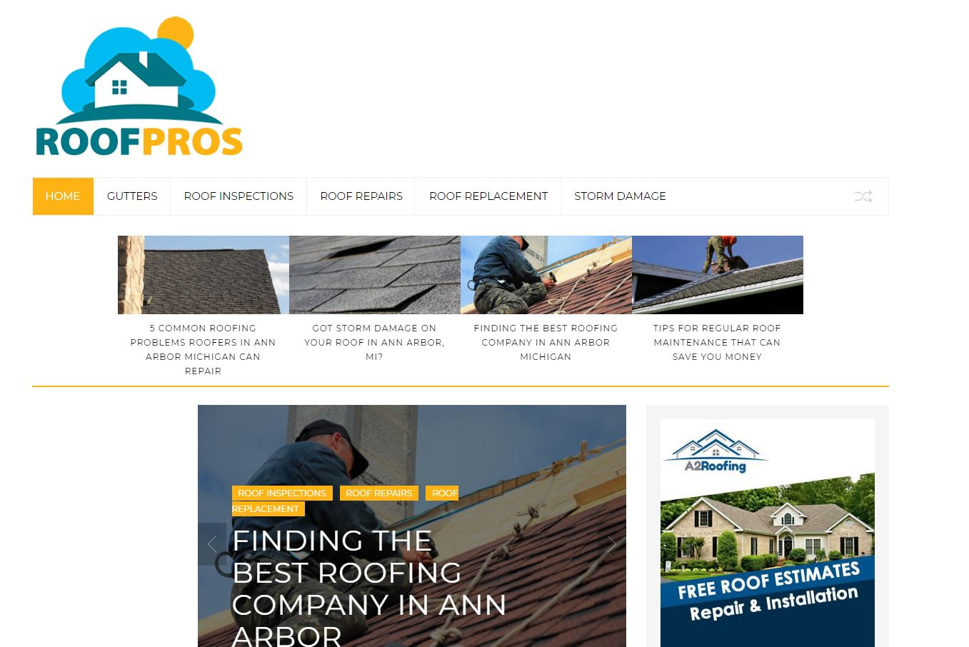 Roofing Contractors Ann Arbor
