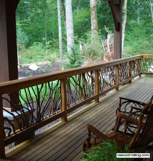 Wood railing, Stair Railing and More – Mountain Laurel Handrails