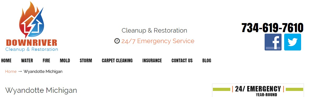 Restoration Company Wyandotte Michigan