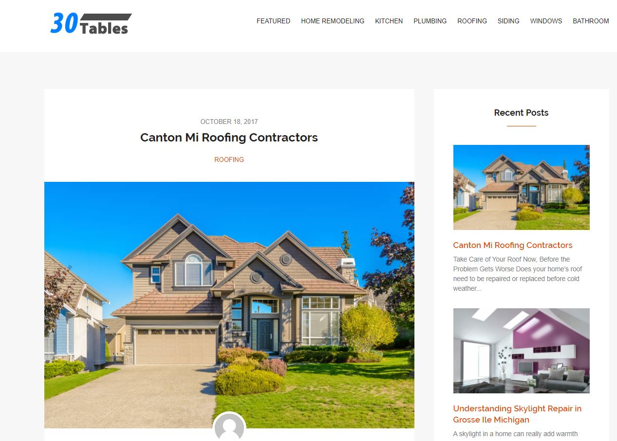 Canton Michigan Roofing Contractors