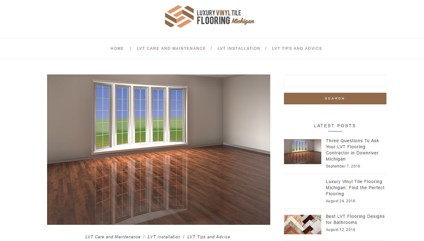 LVT Flooring Company in Michigan