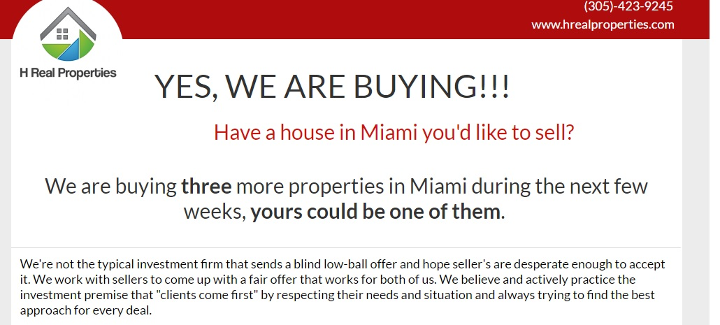 Miami Buy Houses