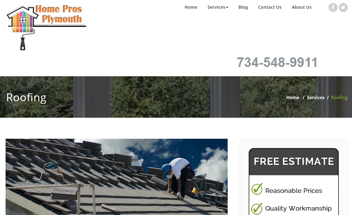 Roofing Companies in Plymouth, Michigan