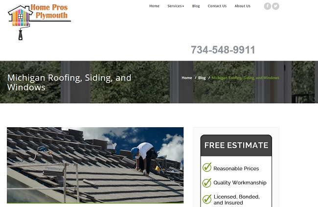 Roofing, Siding, Windows Michigan