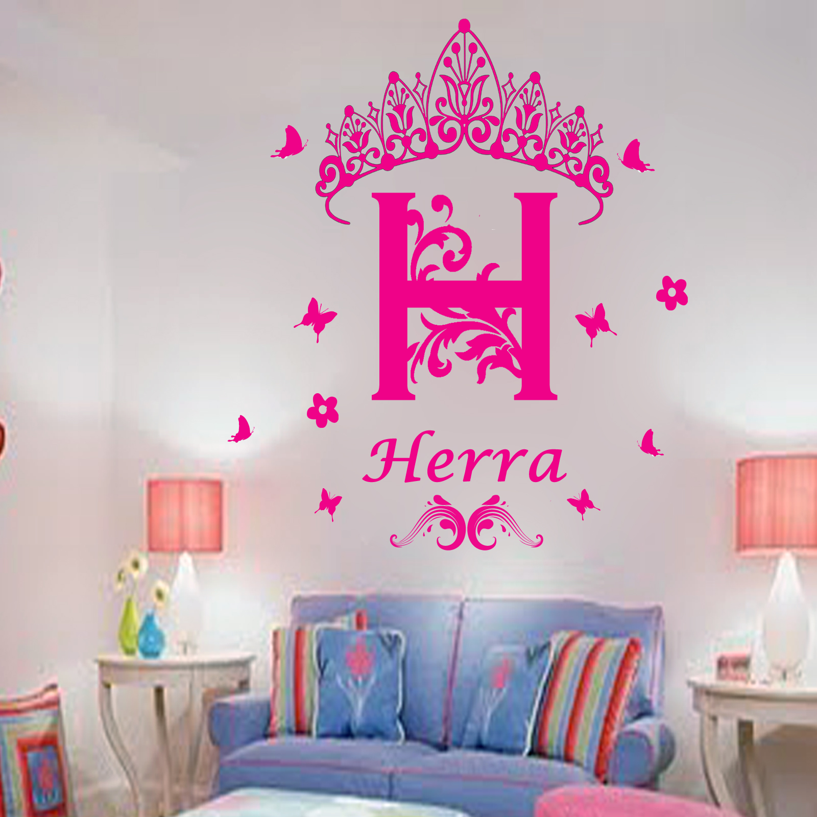 Personalized Vinyl Wall Stickers