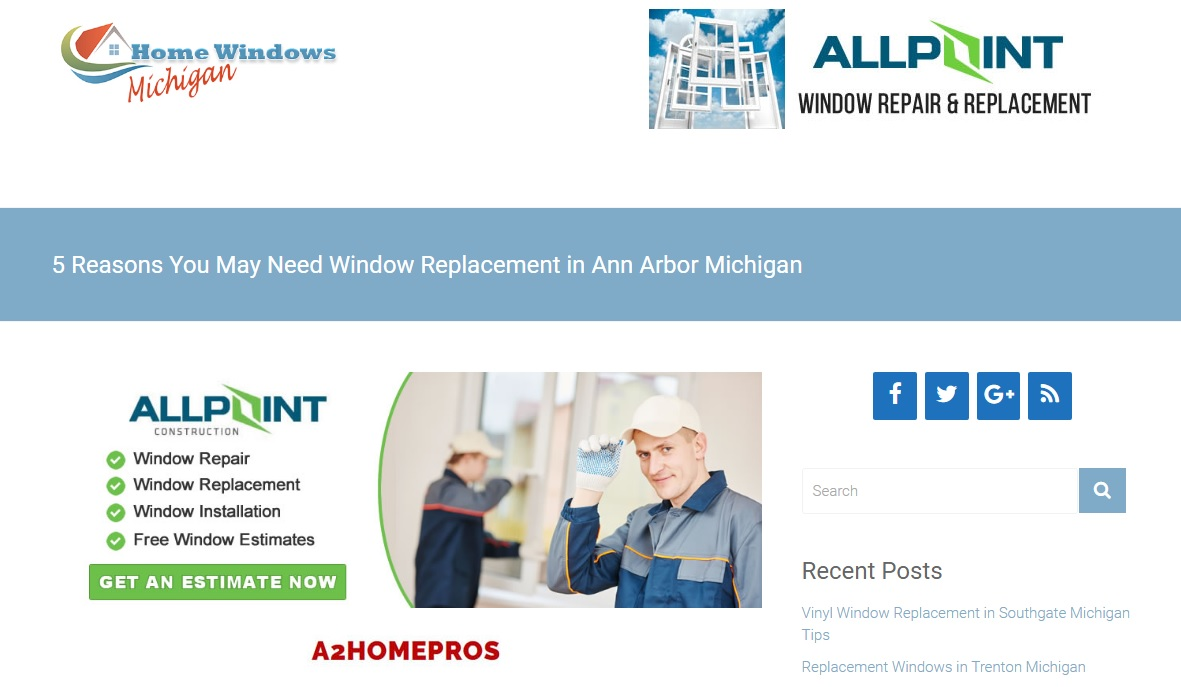 Replacement Windows Ann Arbor MI