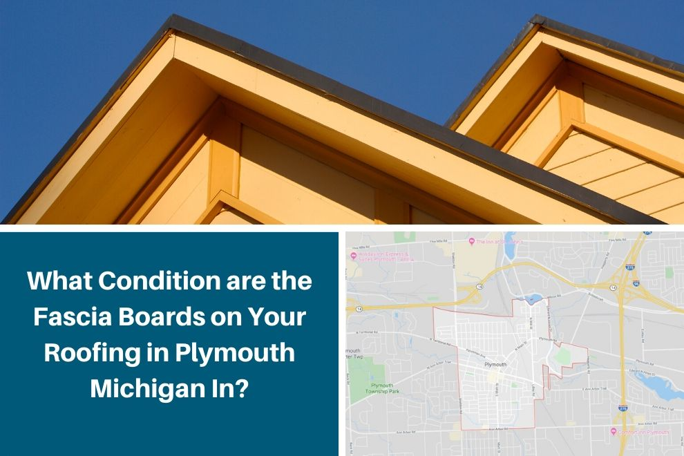 What Condition are the Fascia Boards on Your Roofing in Plymouth Michigan In?