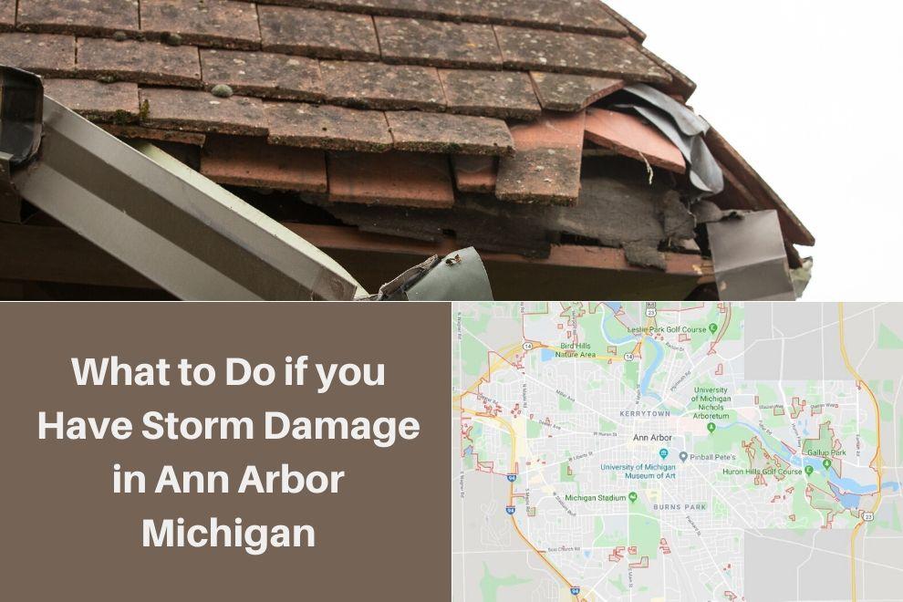 Storm Damage Ann Arbor MI