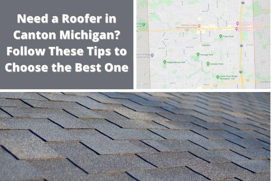 Roofer in Canton MI