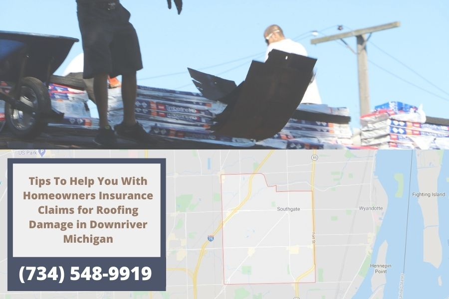 Roof Replacement in Downriver MI