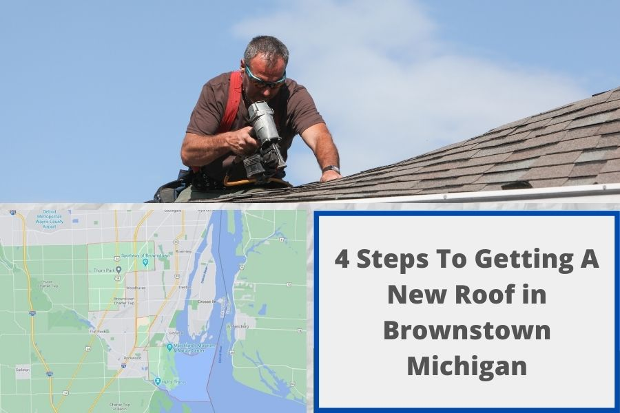 New Roof Install Brownstown MI