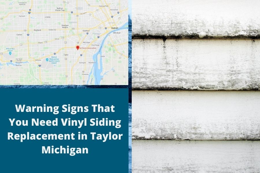 Replacement Siding Taylor MI